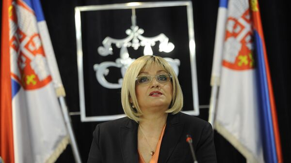 Guvernerka Jorgovanka Tabaković - Sputnik Srbija