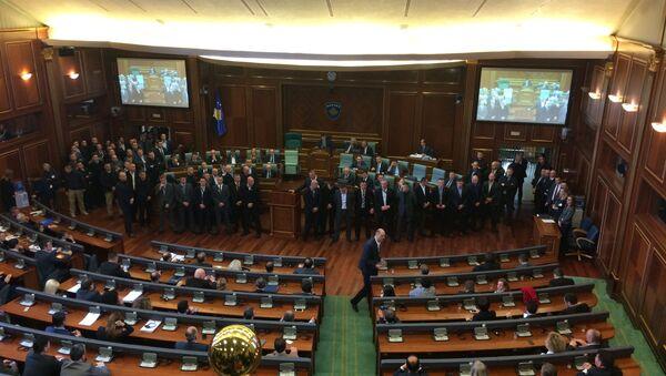 Sednica u skupštini samoproglašenog Kosova - Sputnik Srbija