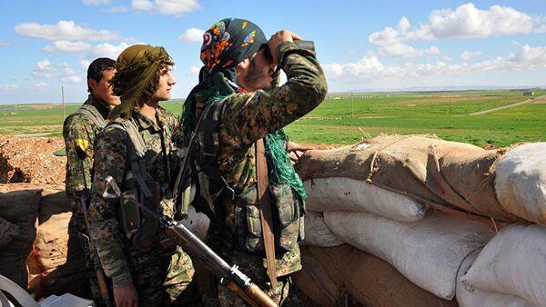 Позиције Курда на северу Сирије - Sputnik Србија