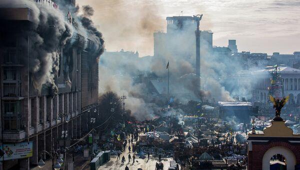Majdan u Ukrajini 2014. godine - Sputnik Srbija
