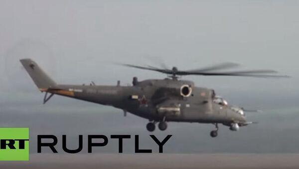 Руски војни хеликоптер - Sputnik Србија