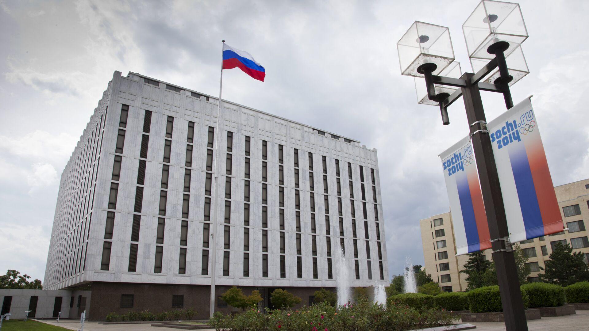 Deo kompleksa ruske ambasade  u Vašingtonu - Sputnik Srbija, 1920, 03.08.2021