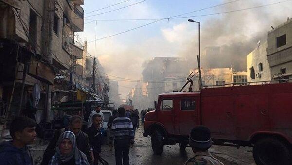 Eksplozija u Damasku - Sputnik Srbija