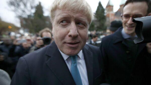 Boris Džonson, gradonačelnik Londona - Sputnik Srbija