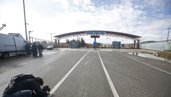 Granični prelaz Turske i Sirije - Sputnik Srbija