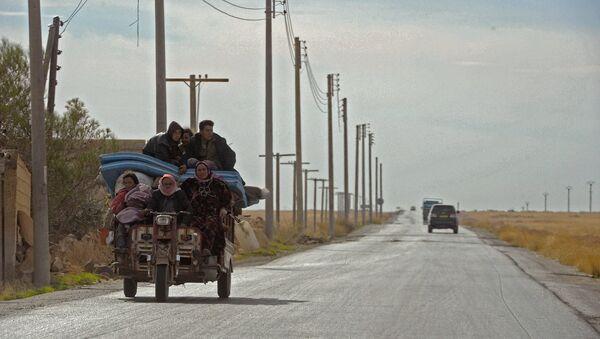 Magistralni put koji povezuje Alep sa ostatkom Sirije - Sputnik Srbija