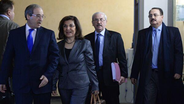 Predstavnici sirijske Vlade doputovali u Moskvu - Sputnik Srbija