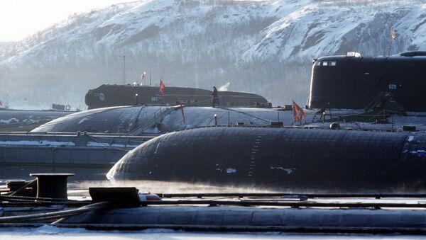 Baza nuklearnih podmornica Rusije, - Sputnik Srbija