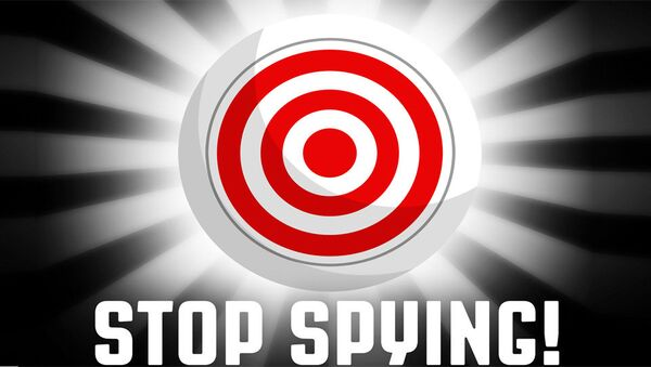 Стоп шпијунирању - илустрација - Sputnik Србија