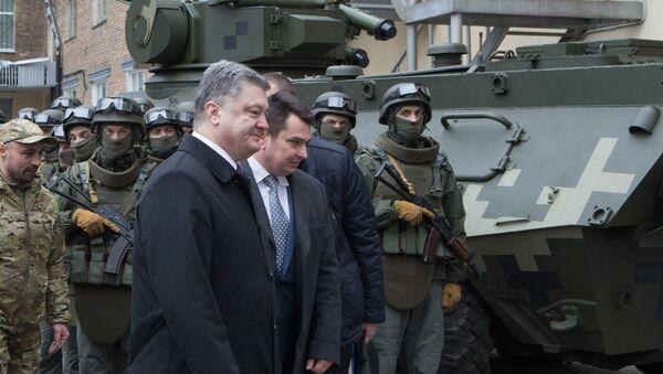 Ukrajinski predsednik Petro Porošenko - Sputnik Srbija