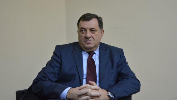 Predsednik Republike Srpske Milorad Dodik bio je gost redakcije Sputnjika - Sputnik Srbija