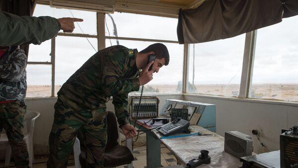 Baza Sirijske vojske u Homsu - Sputnik Srbija