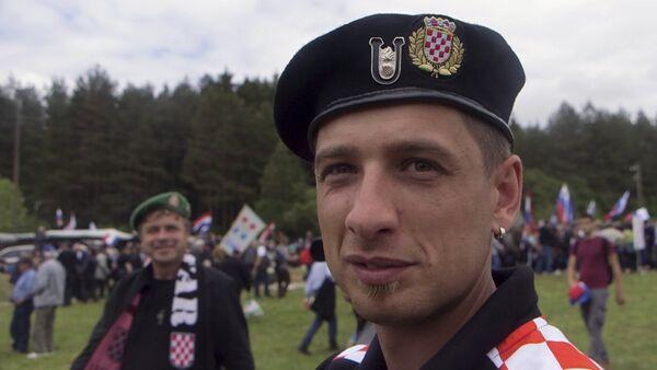 Ultra desničari iz Hrvatske - Sputnik Srbija