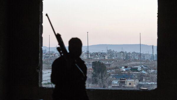 Borci terorističke oragnizacije Nusra front - Sputnik Srbija