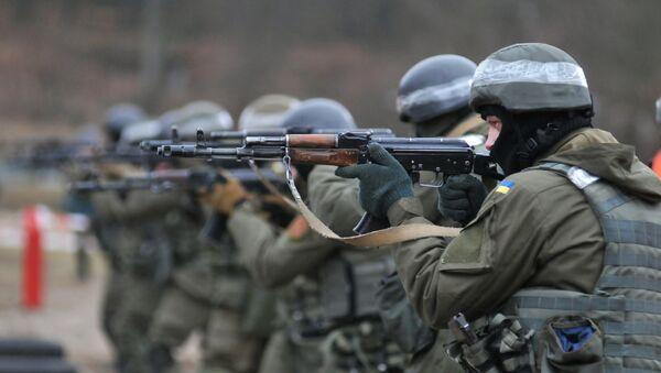 Obuka ukrajinskih vojnika prema NATO standardima - Sputnik Srbija