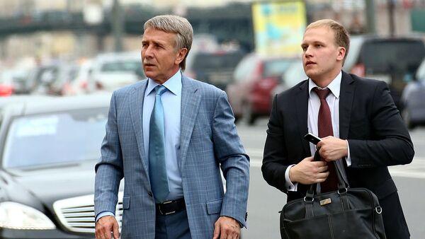 Леонид Михељсон (лево) - Sputnik Србија