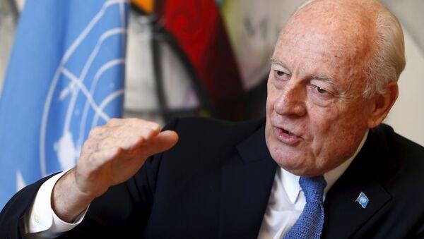 Специјални изасланик ЕУ за Сирију Стафан де Мистура - Sputnik Србија