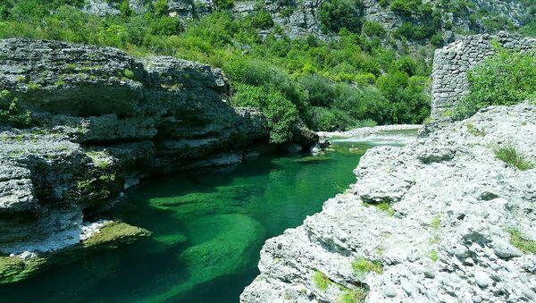 Река Цијевна, Црна Гора  - Sputnik Србија