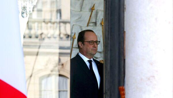 Председник Француске Франсоа Оланд - Sputnik Србија