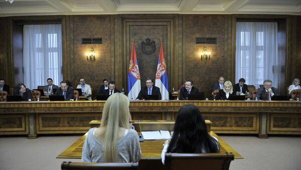 Седница Владе Србије - Sputnik Србија