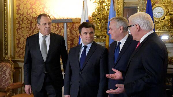 Састанак Нормандијске четворке у Паризу - Sputnik Србија