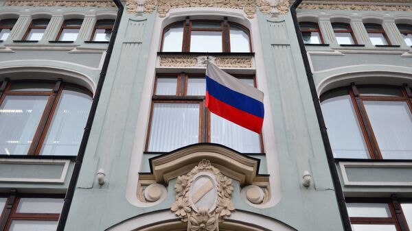Фасада здања Централне изборне комисије (ЦИК) Русије - Sputnik Србија