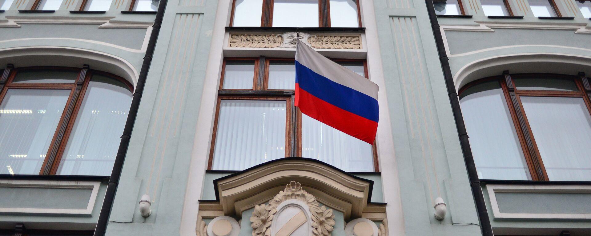 Fasada zdanja Centralne izborne komisije (CIK) Rusije - Sputnik Srbija, 1920, 09.08.2021