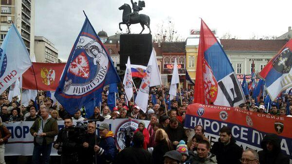 Anti-Nato potest u Nišu - Sputnik Srbija