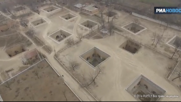 Tradicionalno podzemno selo u Kini - Sputnik Srbija