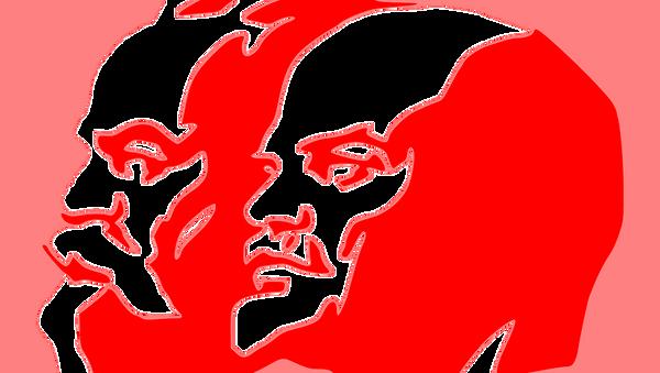 Карл Маркс и Владимир Иљич Лењин - Sputnik Србија