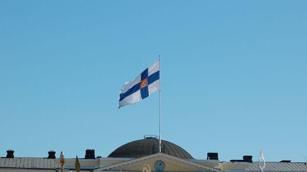 Финска застава у Хелсинкију, Финска - Sputnik Србија