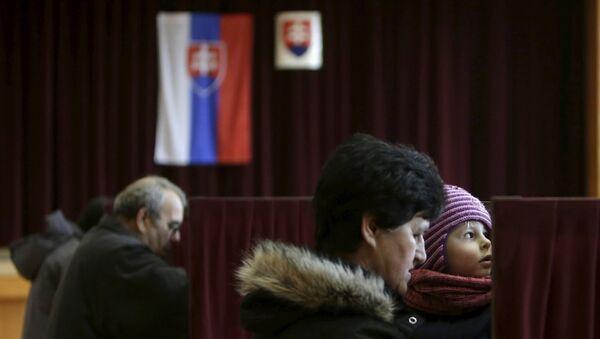Избори у Словачкој. - Sputnik Србија