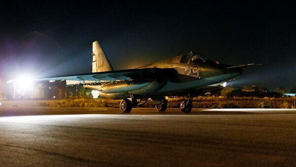 Avion suhoj Su-25SM  - Sputnik Srbija