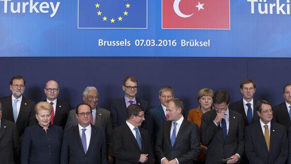 Samit EU-Turska u Briselu - Sputnik Srbija