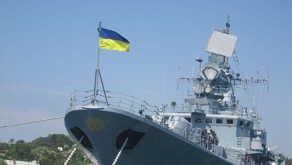 Fregata Hetman Sahajdačniji - Sputnik Srbija