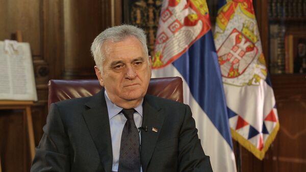 Николић: Русима је довољно кад кажемо да нећемо у НАТО - Sputnik Србија