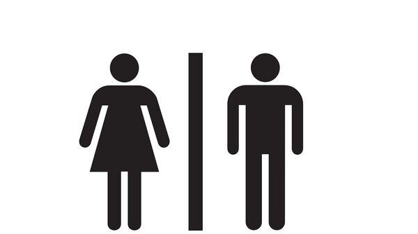 Muški i ženski toalet, ilustracija - Sputnik Srbija