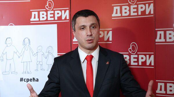 Lider pokreta Dveri Boško Obradović  - Sputnik Srbija