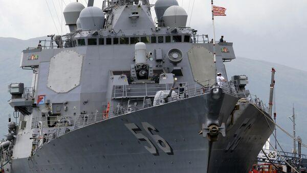 Ratni brod Američke Mornarice Džon Mekejn,  razarač tipa Arli Burk  - Sputnik Srbija