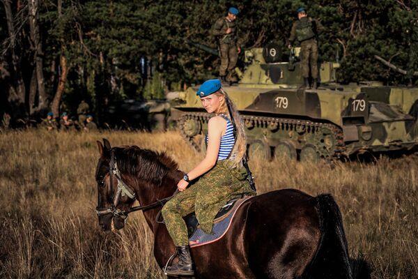 Смртоносне лепотице руских Ваздушно-десантних снага - Sputnik Србија