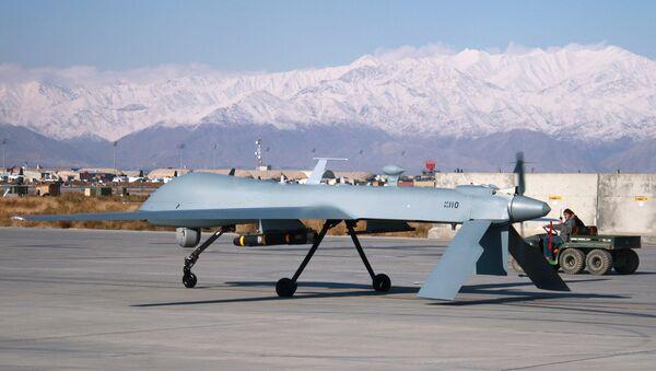 Dron, bespilotna letelica u američkoj bazi Bagram u Avganistanu - Sputnik Srbija