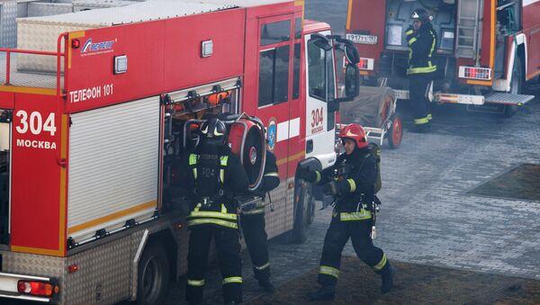 Vatrogasci ruskog Ministarstva za vanredne situacije - Sputnik Srbija