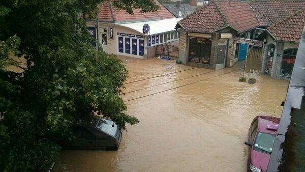 Poplave,Obrenovac - Sputnik Srbija