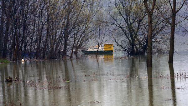 Водостој реке Колубаре код Обреновца - Sputnik Србија