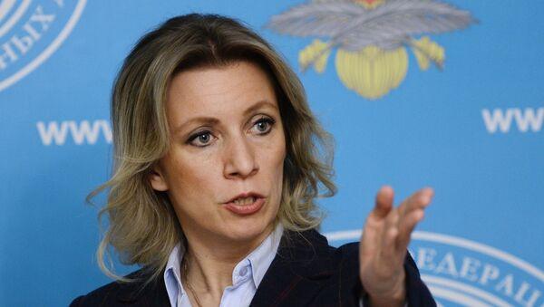 Zvanična predstavnica MIP Rusije Marija Zaharova - Sputnik Srbija