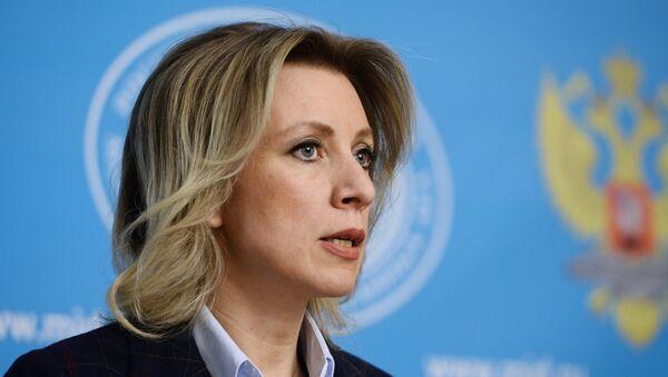 Званична представница МИП Русије Марија Захарова - Sputnik Србија