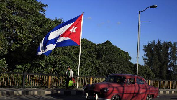 Застава Кубе у Хавани - Sputnik Србија