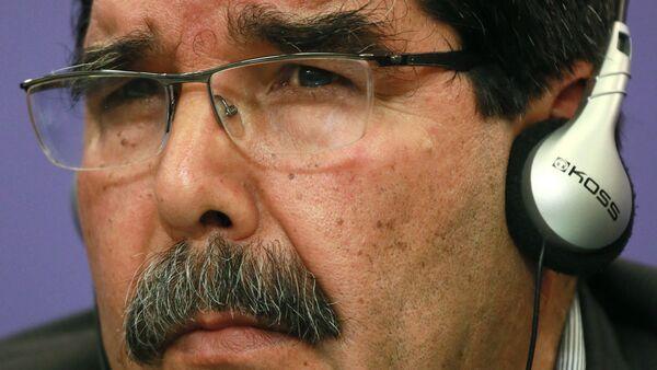 Lider sirijskih Kurda Saleh Muslim - Sputnik Srbija