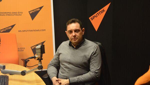 Министар Александар Вулин - Sputnik Србија