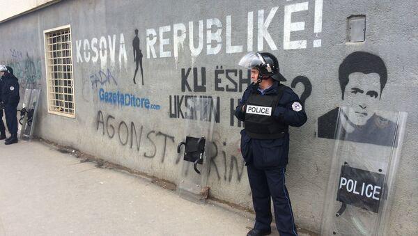 Policija na ulicama Pristine - Sputnik Srbija